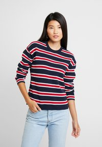 Tommy Hilfiger - HENIE REVERSIBLE - Jumper - blue - 3