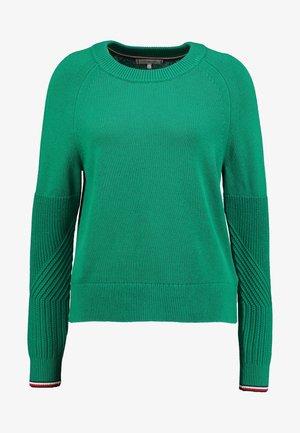 MABLE C - Stickad tröja - green