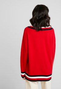 Tommy Hilfiger - ESSENTIAL TIPPING - Maglione - red - 2
