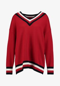 Tommy Hilfiger - ESSENTIAL TIPPING - Maglione - red - 4