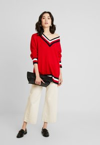 Tommy Hilfiger - ESSENTIAL TIPPING - Maglione - red - 1