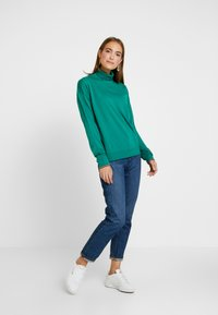 Tommy Hilfiger - ESSENTIAL ROLL - Jumper - green - 1