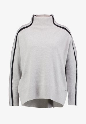 CACIE MOCK - Pullover - light grey heather