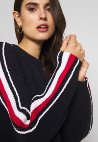Tommy Hilfiger - ESSENTIAL CHUNKY  - Maglione - desert sky - 5