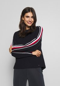Tommy Hilfiger - ESSENTIAL CHUNKY  - Maglione - desert sky - 0