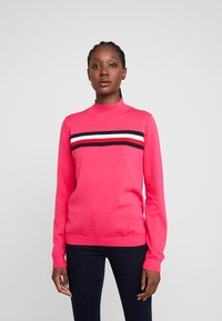 Tommy Hilfiger - JENEE MOCK - Svetr - bright jewel - 0