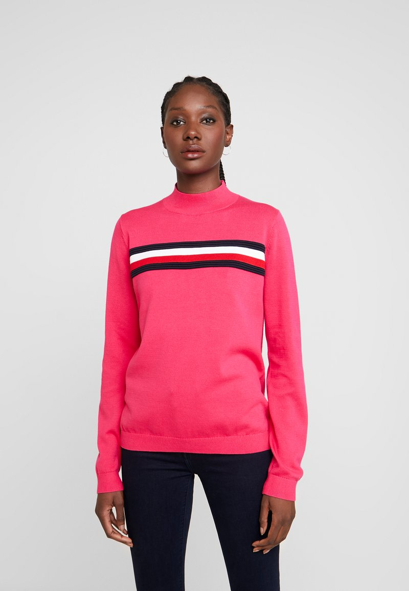 Tommy Hilfiger - JENEE MOCK - Svetr - bright jewel