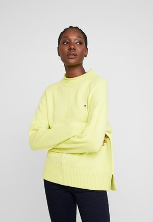 CEVIE MOCK - Jumper - hyper yellow