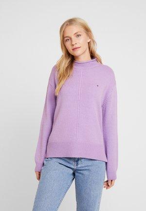 CEVIE MOCK - Sweter - dusty lilac
