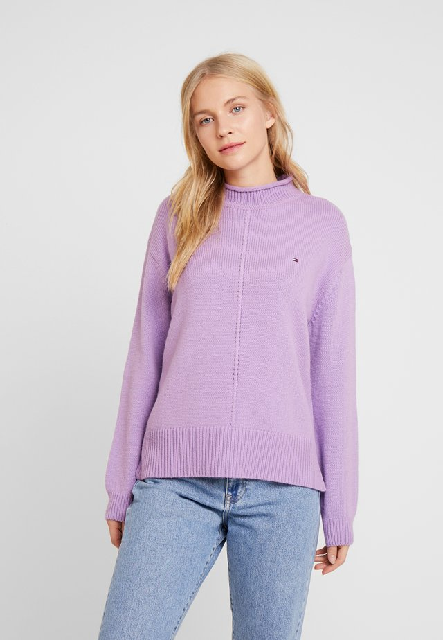 CEVIE MOCK - Jersey de punto - dusty lilac