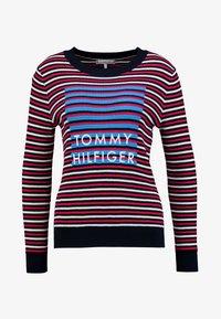 Tommy Hilfiger - VIVIKA GRAPHIC - Pullover - red alert - 3