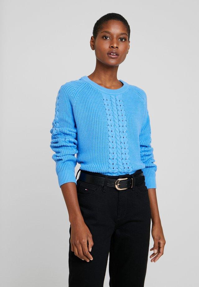 VALARY - Sweter - copenhagen blue
