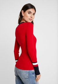 Tommy Hilfiger - VANESSA  - Pullover - primary red - 2