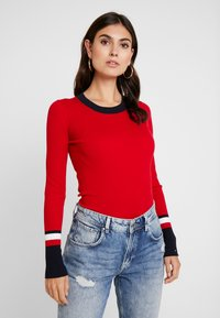 Tommy Hilfiger - VANESSA  - Pullover - primary red - 0