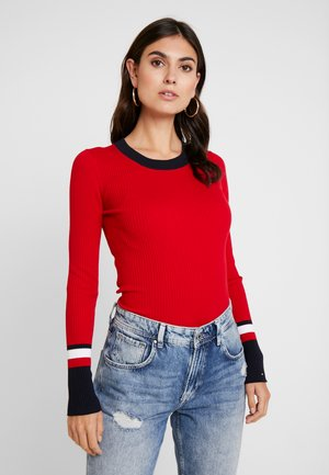 VANESSA  - Sweter - primary red