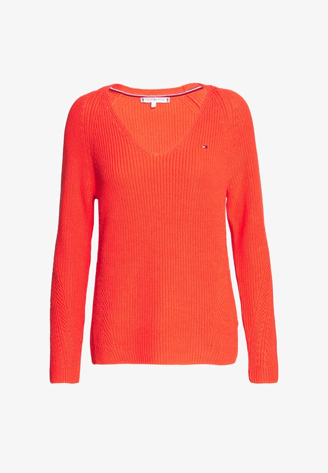 HAYANA  - Jumper - bright vermillion