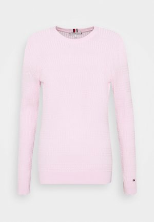 ESSENTIAL CABLE - Pullover - frosted pink