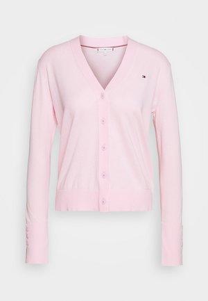LOUA CARDI - Strickjacke - pastel pink