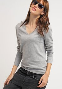 Tommy Hilfiger - NEW IVY - Sweter - light grey heather - 3