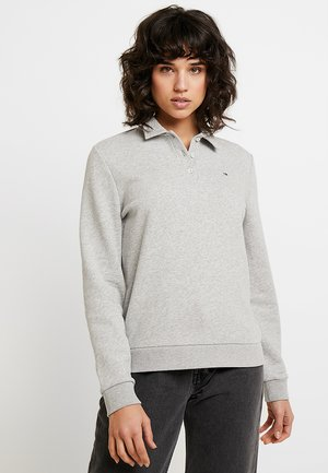EVA COLLARED - Sweatshirt - grey