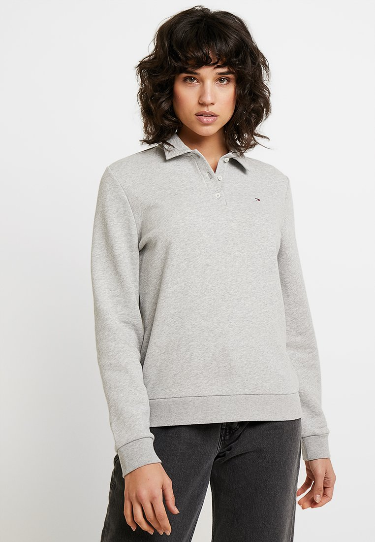 Tommy Hilfiger - EVA COLLARED - Sweatshirt - grey