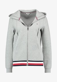 Tommy Hilfiger - HERITAGE ZIP THROUGH HOODIE - veste en sweat zippée - light grey - 4