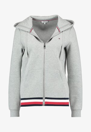 HERITAGE ZIP THROUGH HOODIE - Mikina na zip - light grey