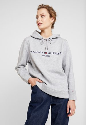 HOODIE - Mikina s kapucí - light grey heather