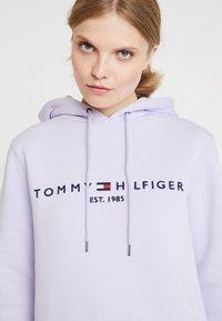 Tommy Hilfiger - HOODIE - Mikina skapucí - lavender ice - 3