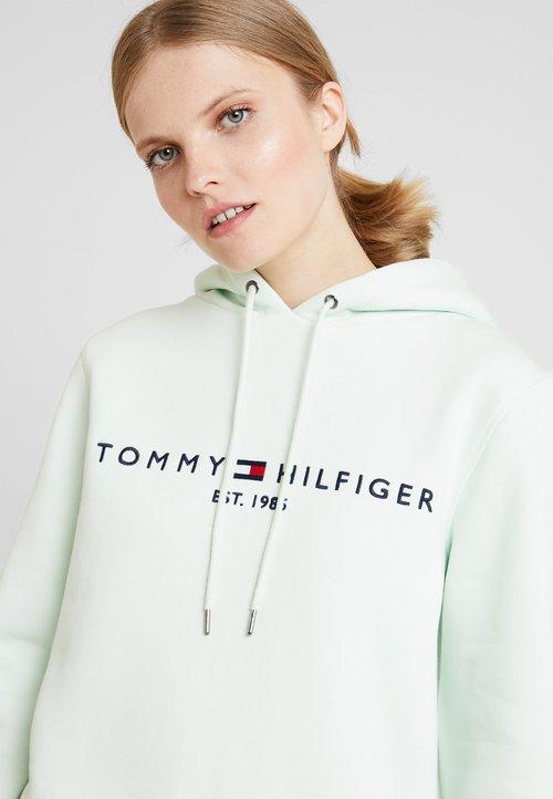 Tommy Hilfiger HOODIE - Bluza z kapturem - minty Odzież Damska GNFB-IT9 w ofercie