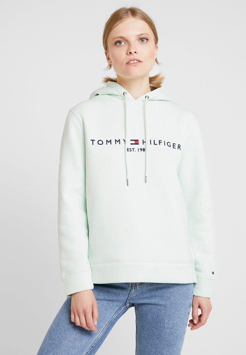Tommy Hilfiger - HOODIE - Kapuzenpullover - minty