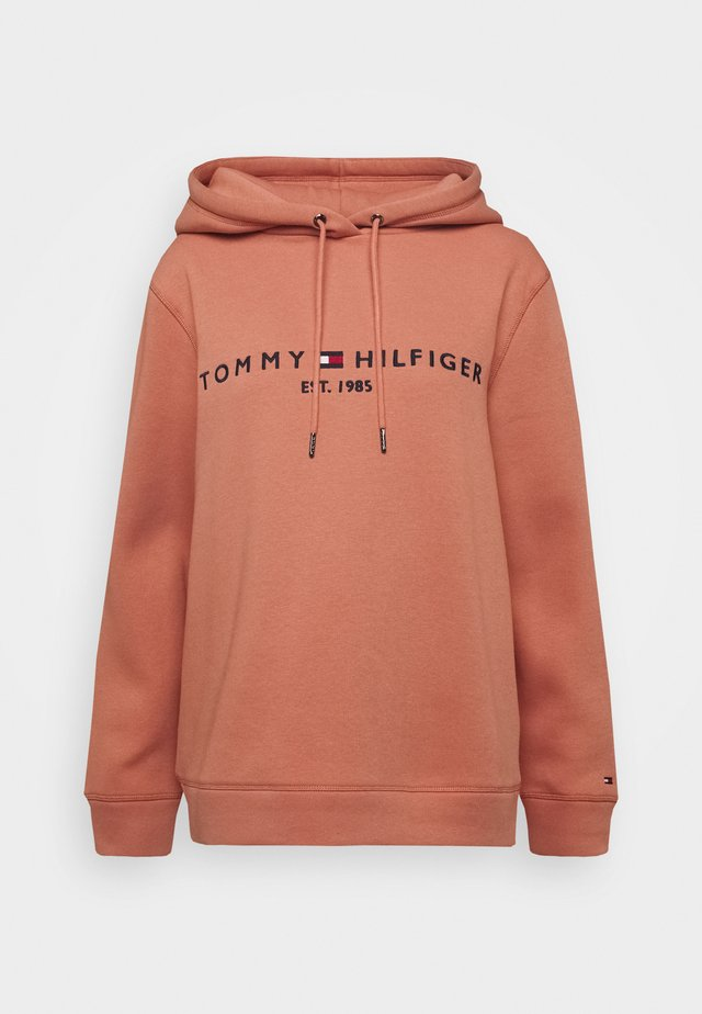 HOODIE - Jersey con capucha - clay pink