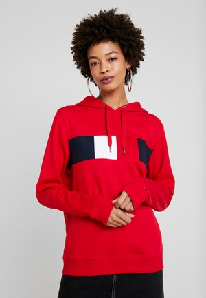 STELLA HOODIE  - Mikina s kapucí - primary red