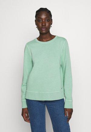 VALERA SLIM ROUND - Sweatshirt - sea mist mint