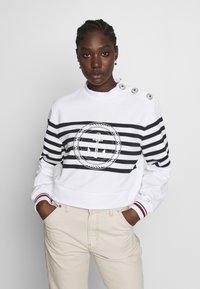 Tommy Hilfiger - ICON HIGH - Sweatshirt - white - 0