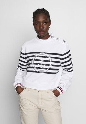 ICON HIGH - Sweatshirt - white