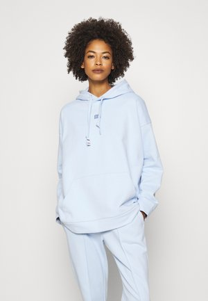 CINDY RELAXED HOODIE - Bluza z kapturem - polished blue