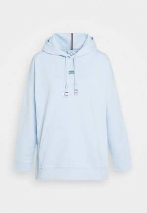CINDY RELAXED HOODIE - Felpa con cappuccio - polished blue