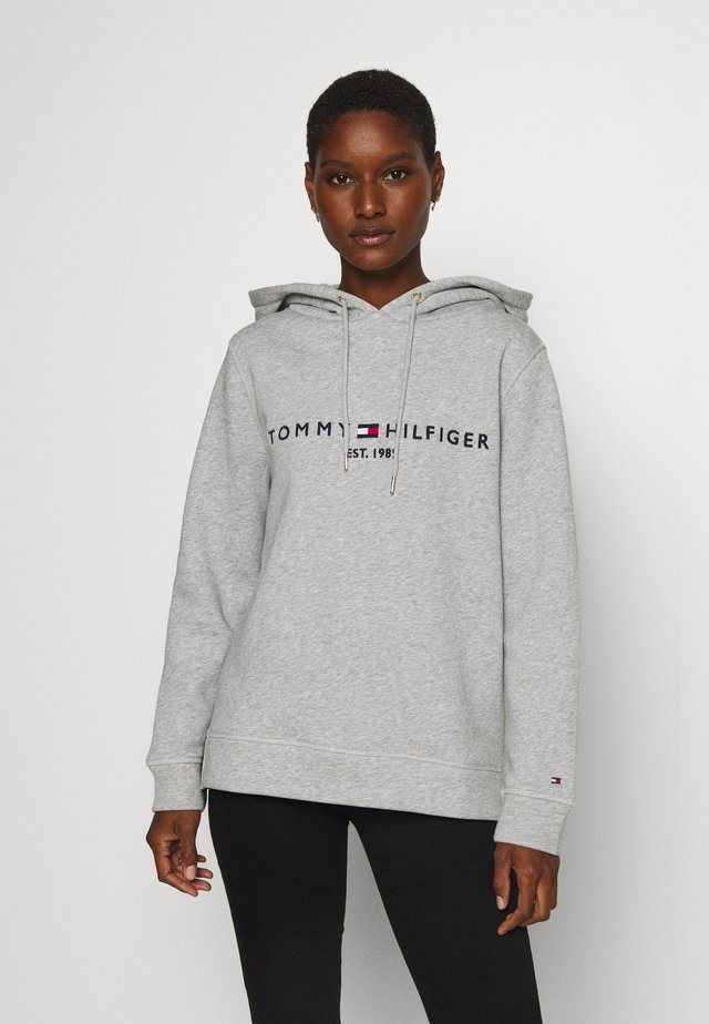 HOODIE - Bluza z kapturem - light grey