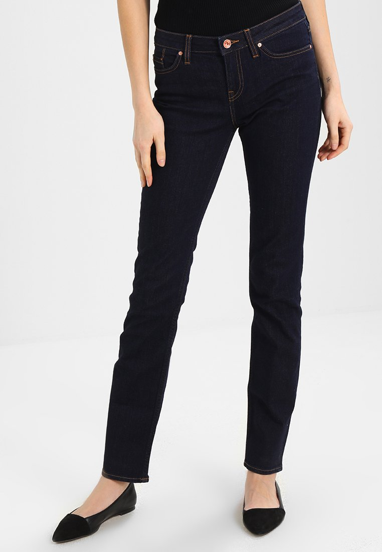 Tommy Hilfiger - ROME CHRISSY - Straight leg jeans - dark-blue denim