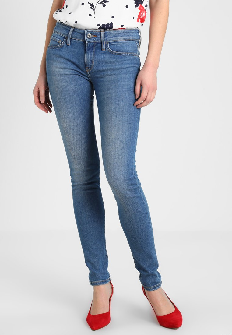 Tommy Hilfiger - VENICE SARAH - Jeans Skinny Fit - blue denim