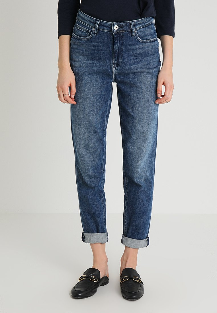 Tommy Hilfiger - GRAMERCY ANKLE LILITH - Jeansy Relaxed Fit - blue denim
