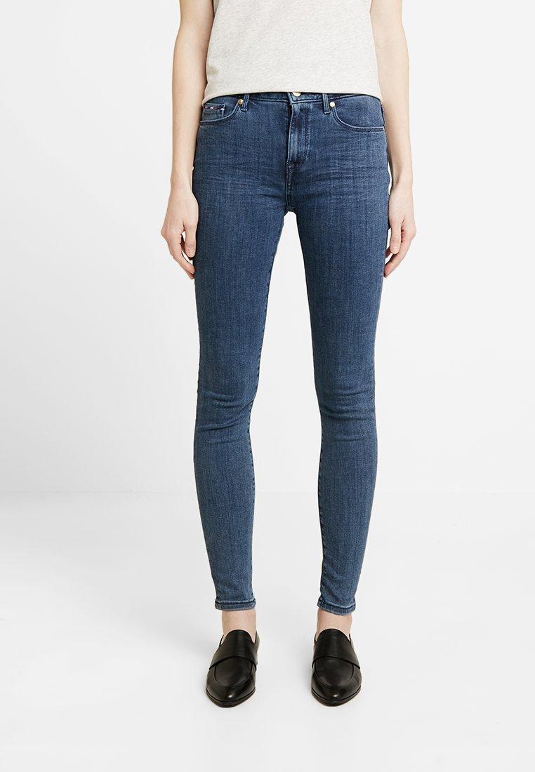 Tommy Hilfiger - COMO MERIA - Jeans Skinny Fit - blue denim