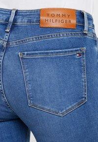 Tommy Hilfiger - COMO BUSA - Jeans Skinny Fit - blue denim - 3