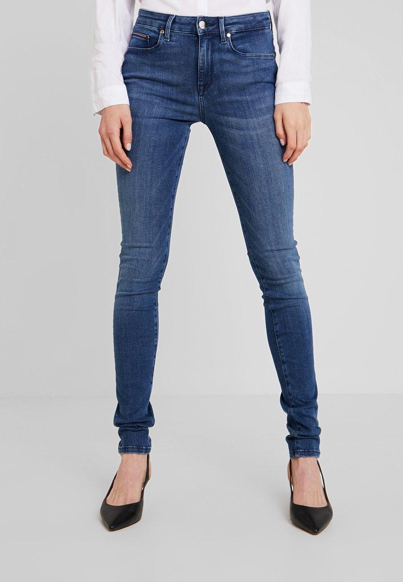 Tommy Hilfiger - COMO ZINA - Jeans Skinny Fit - blue denim