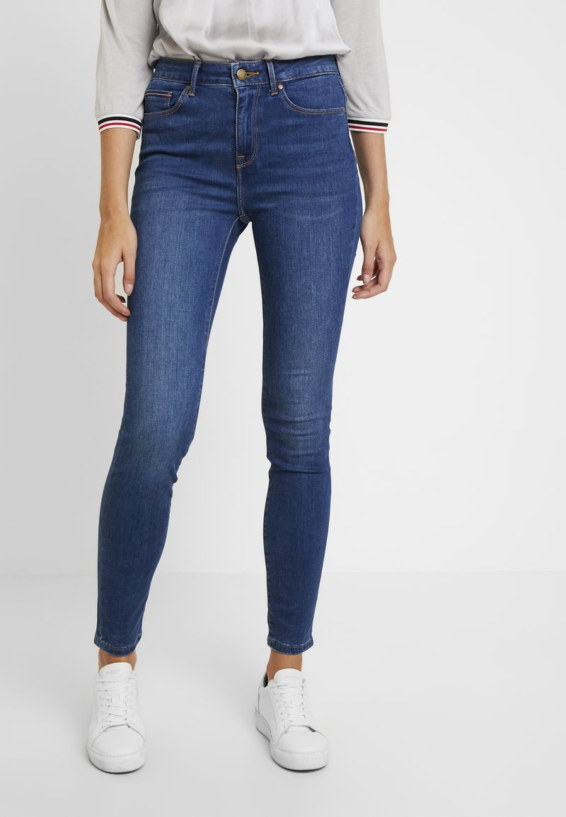 Tommy Hilfiger - COMO JULIA - Jeans Skinny Fit - denim