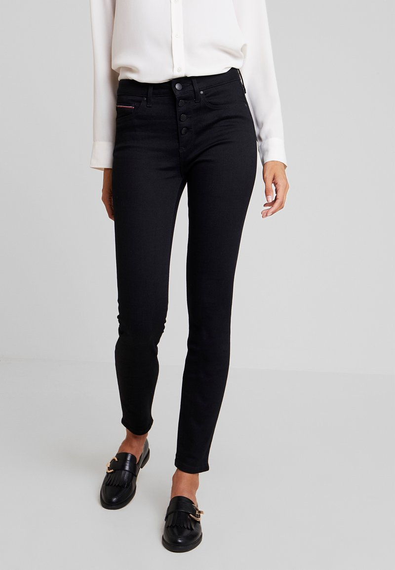 Tommy Hilfiger - COMO JAZZ - Jeans Skinny Fit - black denim