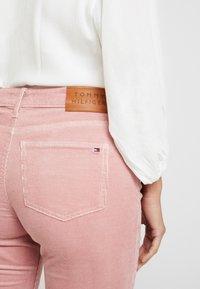 Tommy Hilfiger - ROME MAYA - Pantalon classique - pink - 6