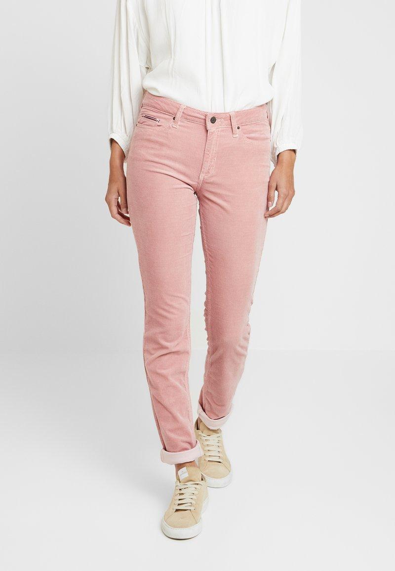 Tommy Hilfiger - ROME MAYA - Pantalon classique - pink