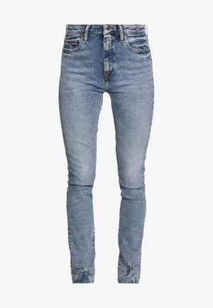 VENICE  NALI - Jean slim - light blue denim